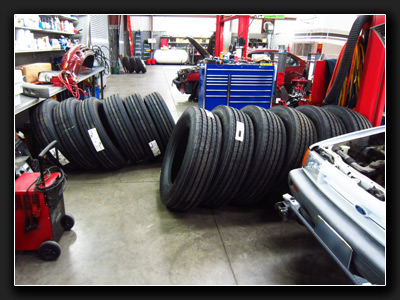 Motor Home Tires